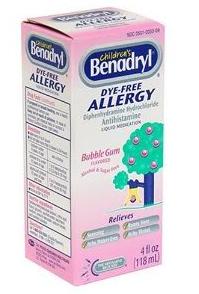 benadryl for kids