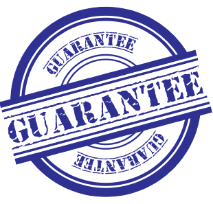 blue guarantee copy