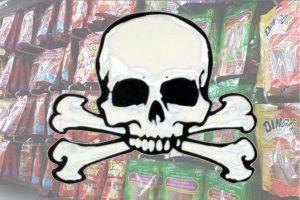 jerky treats death