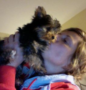 deb and tink on webcam