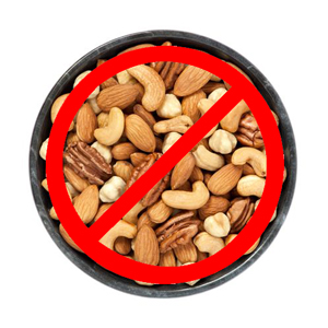 Best to avoid all nuts for your Morkie.