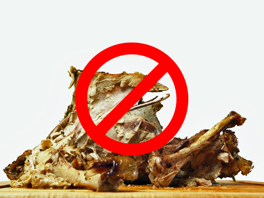 no turkey for dogs